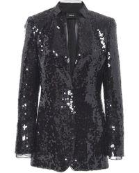 Akris - Tailored Sequin Blazer - Lyst