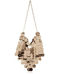 Paco Rabanne Chainmail Shoulder Bag - Metallic