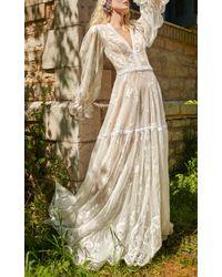 Costarellos Bridal - Romantic Lace Gown - Lyst