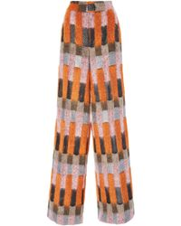 J. Mendel - Patchwork Trousers - Lyst