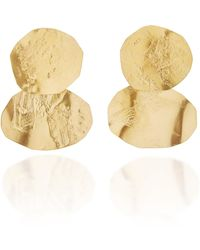 Annie Costello Brown - 18k Gold-plated Earrings - Lyst