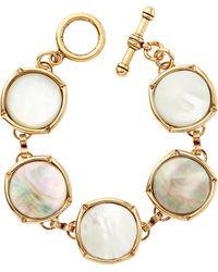 Brinker & Eliza Gold-tone Bright Side Bubble Bracelet - Metallic