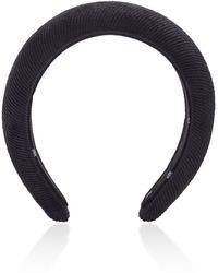 Lele Sadoughi Padded Corduroy Headband - Grey