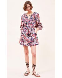 Chufy Gabi Organic Cotton Poplin Mini Dress - Multicolor