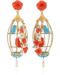 Of Rare Origin | 18k Gold Vermeil Multi-stone Earrings | Lyst