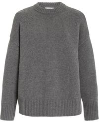 Co. Oversized Wool-cashmere Knit Jumper - Grey