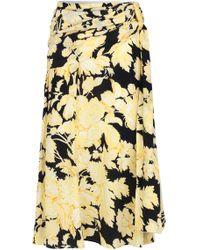Stine Goya - Lilly Wrap Floral Skirt - Lyst