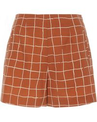 WHIT Jigsaw Unbleached Short - Brown