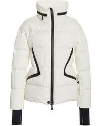 3 MONCLER GRENOBLE Dixence Down Ski Jacket - White