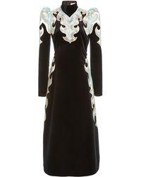 Zimmermann Ladybeetle Mystic Stretch-cotton Dress - Black