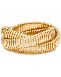 Sidney Garber - Yellow Gold 12mm Rolling Bracelet - Lyst
