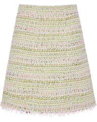 Giambattista Valli - Tweed Mini Skirt - Lyst