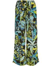Banjanan - Tommy Printed Silk Pant - Lyst