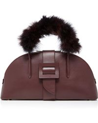 ADEAM - Maribou Top Handle Bag - Lyst