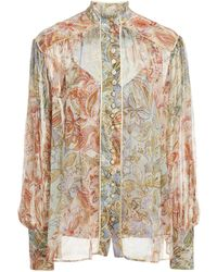 Zimmermann Lucky Bound Blouse - Multicolour
