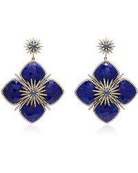 Sanjay Kasliwal - Lapis Drop Earrings - Lyst