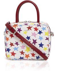 Michino Paris Stars Squarit Pm Crossbody Bag - Multicolor