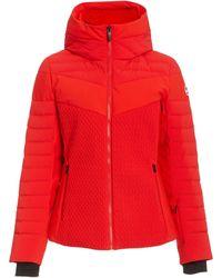 Fusalp Amalienne Down Puffer Jacket - Red