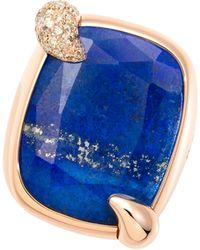 Pomellato - Ritratto Lapis Lazuli Ring - Lyst