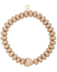 Sheryl Lowe 14k Rose Gold And Diamond Bracelet - Metallic