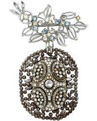 Lulu Frost One-of-a-kind Vintage Brooch Style 4 #1 - Metallic