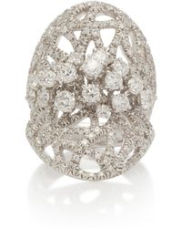 Noa - Glacier 18k Gold Diamond Ring - Lyst
