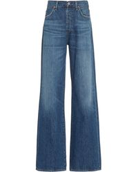 Citizens of Humanity Annina High-rise Wide-leg Jeans - Blue