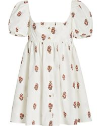 Ciao Lucia Diana Cotton Mini Dress - Pink