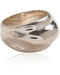 Pamela Love Dome Sterling Silver Ring - Metallic