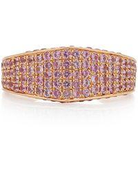 Ralph Masri 18k Rose Gold And Pink Sapphire Ring
