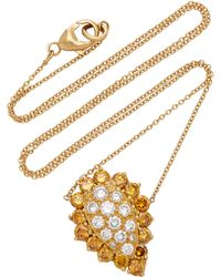Renee Lewis - 18k Gold And Diamond Necklace - Lyst