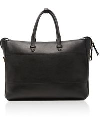 Lotuff Leather Triumph Leather Briefcase - Brown