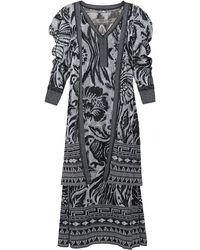 Johanna Ortiz Shiva Cotton Cardigan And Dress Set - Black
