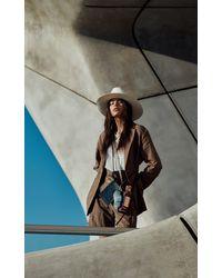 Dorothee Schumacher Chic Wilderness Rising Sun Leather Belt - Brown