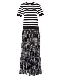 Michael Kors - Printed Jersey Maxi Dress - Lyst