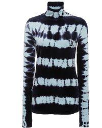 Proenza Schouler - Tie Dye Velvet Jersey Top - Lyst
