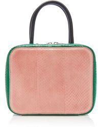 Michino Paris Squarit Pm Shoulder Bag - Pink