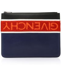Givenchy - Large Logo Pouch - Lyst