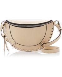 Isabel Marant Skano Studded Leather Belt Bag - Multicolor