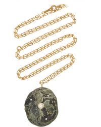 CVC Stones Marshy 18k Gold, Diamond And Stone Necklace - Metallic