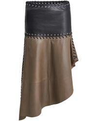 Stand Studio Paisley Skirt - Brown