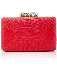 Kayu - Jen Clutch With Turquoise Stone - Lyst
