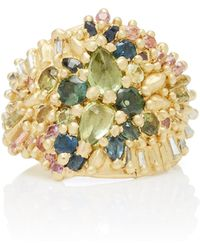 Polly Wales - One-of-a-kind Audouin Shield Ring - Lyst