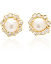 Kimberly Mcdonald | One-of-a-kind Reclaimed Pearl Studs | Lyst