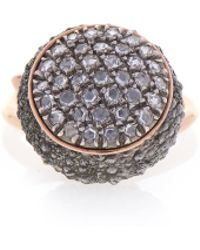 Federica Rettore - Campanellino Ring With Diamonds - Lyst