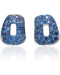 Mattioli - Puzzle Earrings With Sapphires - Lyst