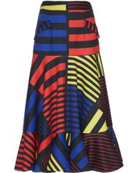 Rahul Mishra - Mondrian Inspired Ruffle Skirt - Lyst