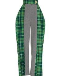 Tata Naka - Wide Leg Patchwork Trouser - Lyst