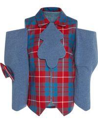 Tata Naka - Jacket With Asymmetrical Sleeves - Lyst