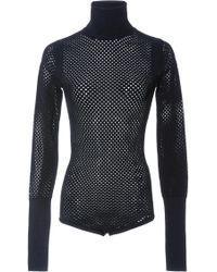 Jill Stuart Carolina Mesh Bodysuit - Black